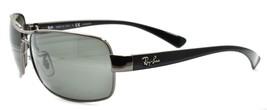 Ray-Ban RB3379 004/58 Sunglasses 64-15-130 Gunmetal / Gray Polarized ITALY - $118.60