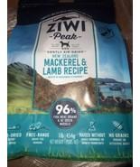 1 lb ZIWI Peak Air-Dried Mackerel & Lamb Recipe New Zealand 04-2022 Seal... - $43.54