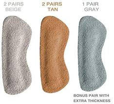 Heel Grips for Narrow Heels or Loose Shoes, Premium Suede Leather Cushion Insert image 6