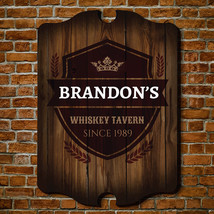 Whiskey Tavern Personalized Sign - $49.95+