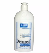 Dermasil Dry Skin Lotion Treatment HYPO-ALLERGENIC Original 8 Oz Flip Top - $7.91