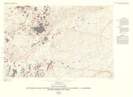 Sterling Quad Oil, Gas Fields - USGS  1978 - 31.49 x 23 - $36.95+