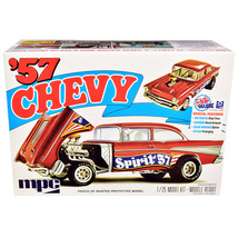 Skill 2 Model Kit 1957 Chevrolet Gasser Flip Nose Spirit of 57 1/25 Scal... - $59.66
