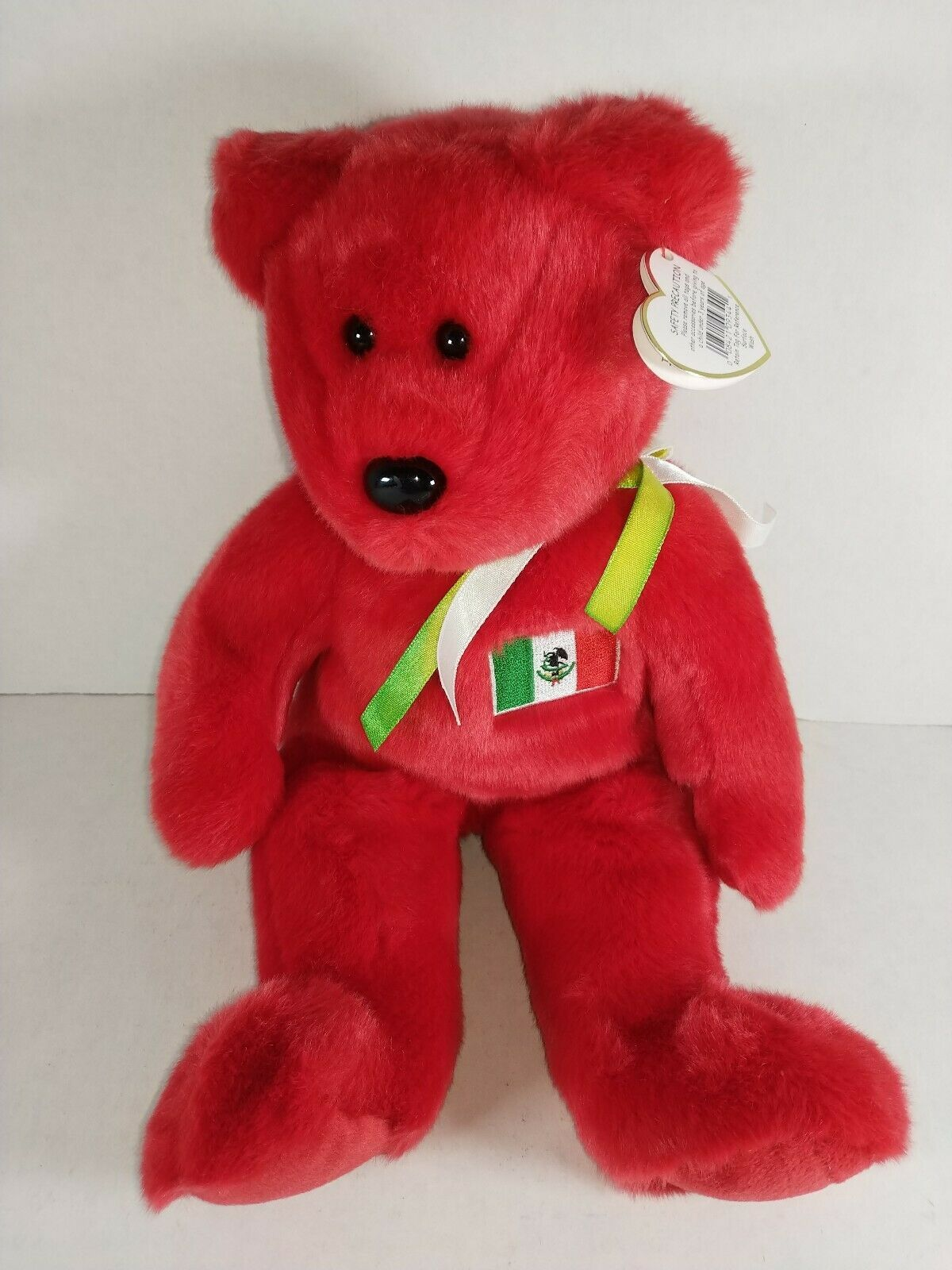 TY Beanie Buddy Osito The Bear With Tag Retired   DOB: 1999 image 3