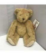 The Vermont Teddy Bear Company Tan Brown Soft Plush Stuffed Animal Toy 16″ - $129.99