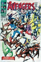 The Avengers #44 Silver Age Collectible Comic Book 1967 MARVEL Comics! - $30.39