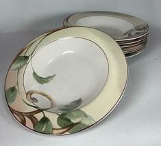 Set of 7 Shiraz Soup Coupe Bowls 222 5th Ave Floral Design PTS INTERNATI... - $37.61