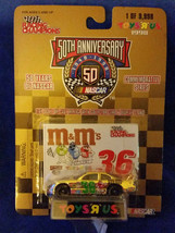 1998 Racing Champions 1:64 Scale Toys R Us Gold 1/9998 #36 M&Ms - $7.55