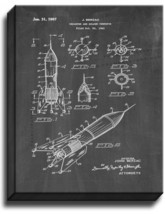 Decanter And Holder Therefor Patent Print Chalkboard on Canvas - $39.95+