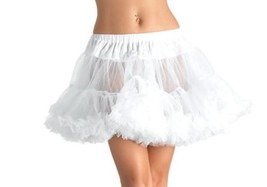 LEG AVENUE Layered Tulle Petticoat Tutu Fancy Dress 8990 PLUS SIZE ONE size - $19.86