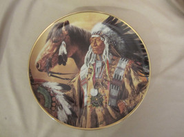 Pride Of The Sioux Collector Plate Paul Calle Indian Franklin Mint Native Am. - $15.00
