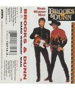 BROOKS & DUNN   HARD WORKIN MAN - $4.00
