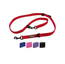 6 Way Multi-Function Dog Leash Adjustable Six Functions 1 inch wide 5 Co... - $17.60