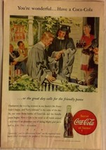 Vintage Advertisement - Coca Cola - 1946 - $5.99