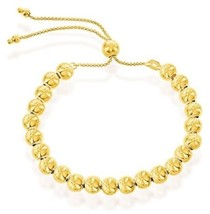 Sterling Silver Italian 14k Gold Plated Over Silver Italian 6mm High Polish - $113.11