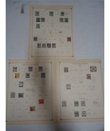 Lot of 9 Vintage Straits Settlements Postage Stamps 1904-1922 On Page Ma... - $7.49