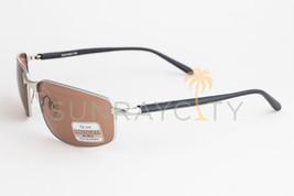 Serengeti Luigi Silver Black / Tannery Drivers Sunglasses 7383 - $205.31