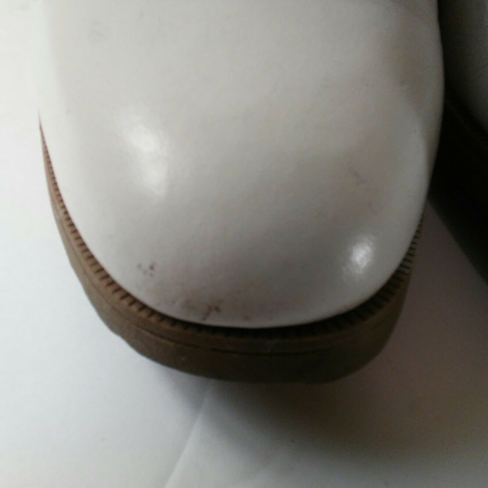 Nike Air Classic Plus White & Brown Saddle Golf Shoes Size 9 image 7