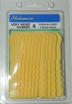 Shakespeare Ugly Head Hybrid Pushnload Yellow 4 in Plastic 12pk image 1