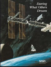 DARING WHAT OTHERS DREAM NASA EMPLOYMENT BROCHURE - $10.38