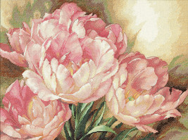 """Dimensions/Gold Collection Counted Cross Stitch Kit 16""""X12""""-Tulip Trio - $49.22"""