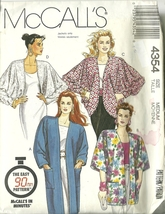 McCall's Sewing Pattern 4354 Misses Womens Jacket Size 14 16 New - $9.99