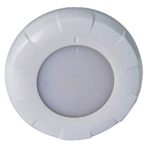 Lumitec Aurora LED Dome Light - White Finish - White/Blue Dimming - $109.99