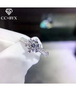 CC Bijouterie Rings For Women Wedding Engagement Bridal Jewelry Cubic Zi... - $12.69