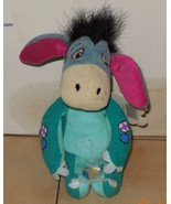 "Vintage Disney Store Winnie The Pooh 6"" Eeyore beanie plush stuffed toy ... - $9.50"