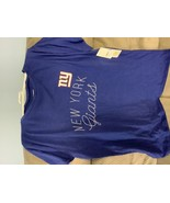 NFL New York Giants Women's Short Sleeve T-Shirt - L - $14.00