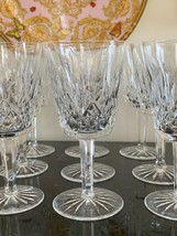Vintage Waterford Lismore Water Goblet Glasses Set of 12 - $399.00