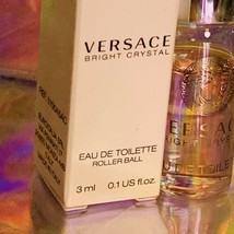 NEW IN BOX 3mL TRIAL VERSACE BRIGHT CRYSTAL Eau de Toilette Precious. image 2