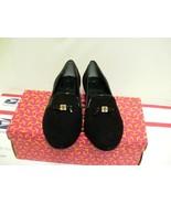 Women's tory burch slipper chanda loafer black size 6.5 us - $183.10