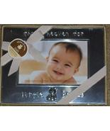 """""""thank heaven for little babies"""" Silver-tone Baby Frame ~ Holds 4"""" x 6"""" ... - $49.49"""