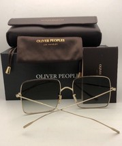 New OLIVER PEOPLES Sunglasses RAYETTE OV 1232S 50358E Gold Cat Eye w/ Ol... - $379.99
