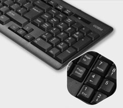 Cosy KB3362WL Korean English Wireless Keyboard USB Membrane Keyboard image 4