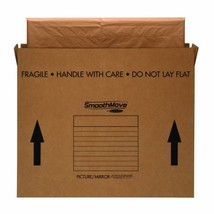 Bankers Box SmoothMove TV/Picture/Mirror Moving Box, Large, 48 x 4 x 33 ... - $43.94