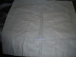 Designer Sleeper/ Dust Bag Gray John Varvatos with Black Logos - $8.90