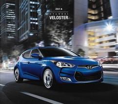 2014 Hyundai VELOSTER sales brochure catalog US 14 Turbo R-Spec - $8.00
