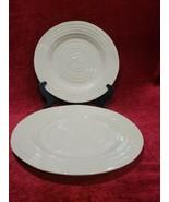 "Portmeirion Sophie Conran Biscuit Set of 2 Dinner Plates 11"" - $27.72"