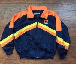 VTG NASCAR Tide Racing #5 Windbreaker Full Zip Jacket Pit Team Crew Coat XL - $50.48
