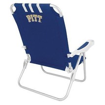 Picnic Time Collegiate Monaco Beach Chair, Pittsburgh - Blue - $113.84
