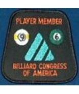 NEW 1996 BCA 8 BALL POOL LEAGUE PLAYER MEMBER PATCH FREE SHIPPING U.S.A. - $9.88