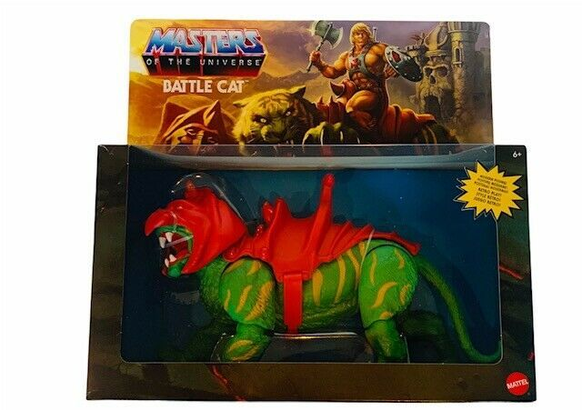 Primary image for He-man Masters of Universe Origins Action figure toy Battle Cat Cringer NIB Box