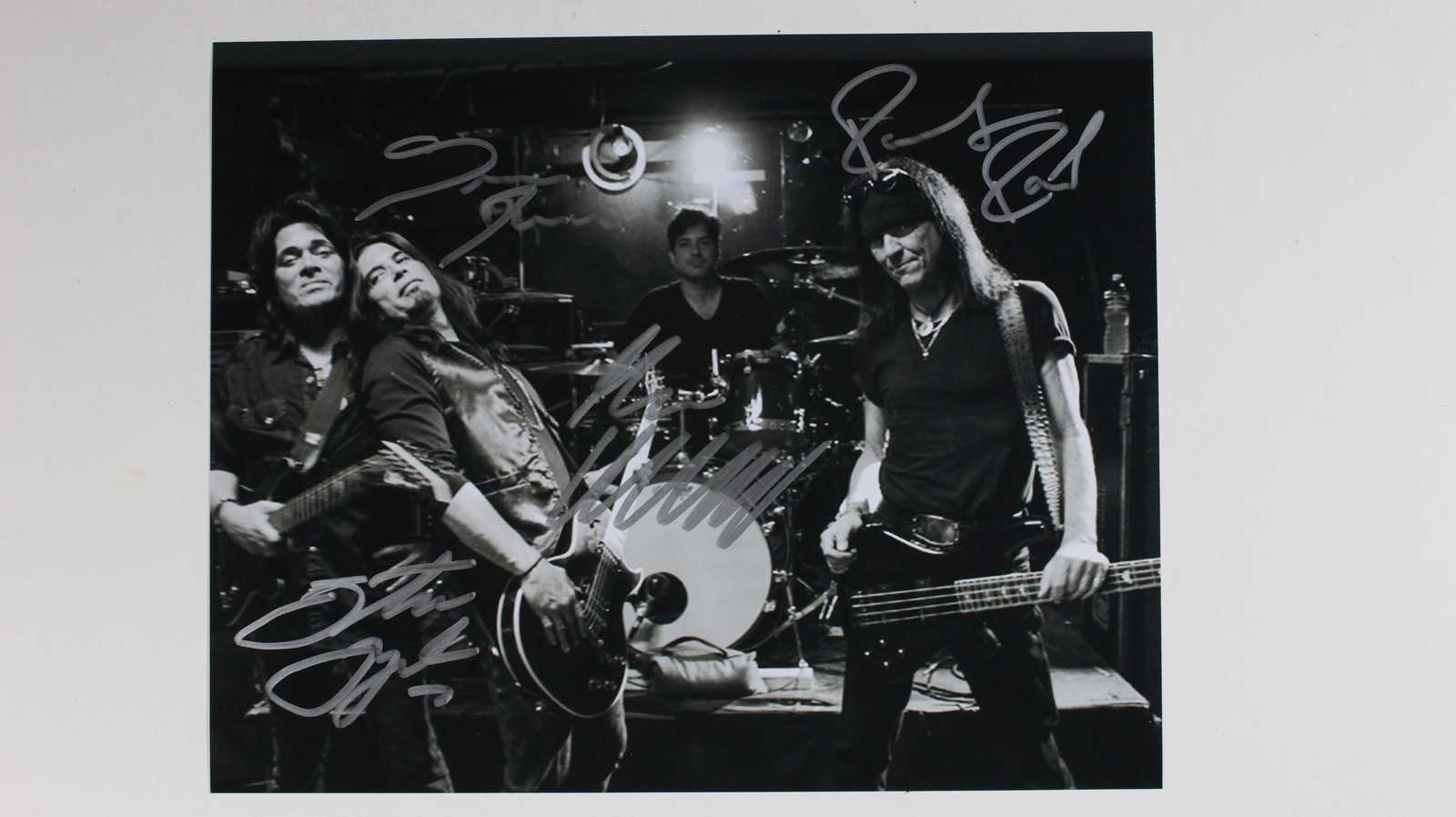 Primary image for Autograph Band Signed Autographed Glossy 8x10 Photo