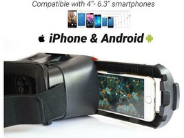 VR Headset Compatible with iPhone and Android Phone, VR Goggles image 2