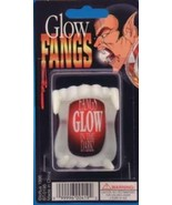 2 sets MONSTER FRIGHT VAMPIRE GLOW IN DARK FANGS - $4.98