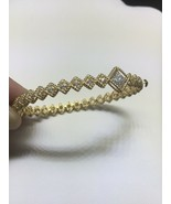ROBERTO COIN 18K Yellow Gold Roman Barocco Off-Center Diamond Bracelet (... - $2,650.00