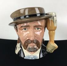 1984 Royal Doulton Wild Bill Hickock Toby Mug Jug Wild West Collection Vtg Gift - $123.70