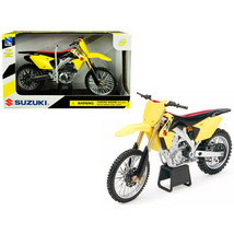 Suzuki RM-Z450 Yellow 1/12 Motorcycle Model by New Ray 57643 - $27.23